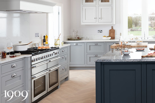 Verwood Kitchens and Bathrooms - 1909 Ovolo kitchen