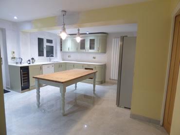 Verwood Home Improvements - Kitchen tile flooring