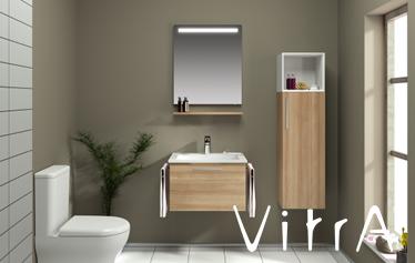 Verwood Kitchens and Bathrooms - VitrA Ecora bathroom