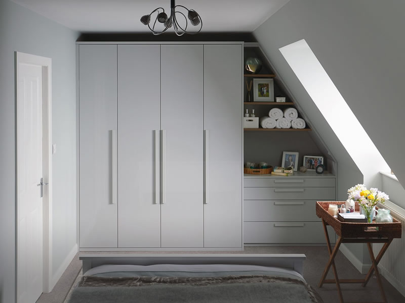 Verwood Kitchens and Bathrooms - Kindred Parity - Gloss Dove Grey