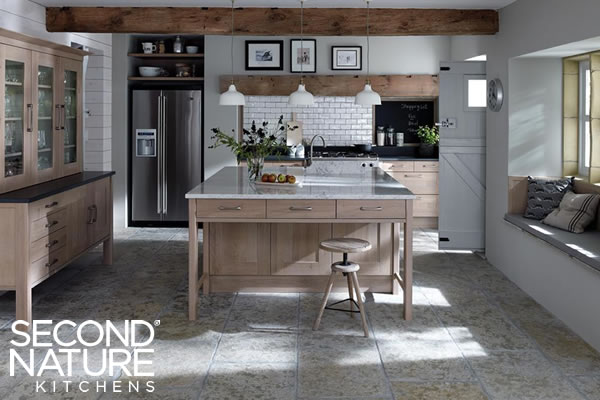 Verwood Kitchens and Bathrooms - Second Nature Broadoak Rye and Stone kitchen